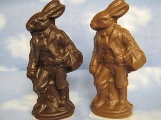 Solid Chocolate Papa Rabbit (lge)
